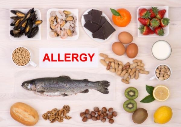 อาหารบางชนิดมีแนวโน้มที่จะก่อให้เกิดอาการแพ้ได้มาก