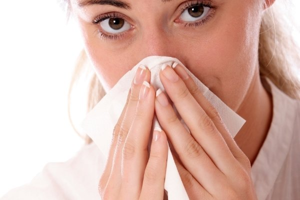 อาการคัดจมูกหรือน้ำมูกไหล