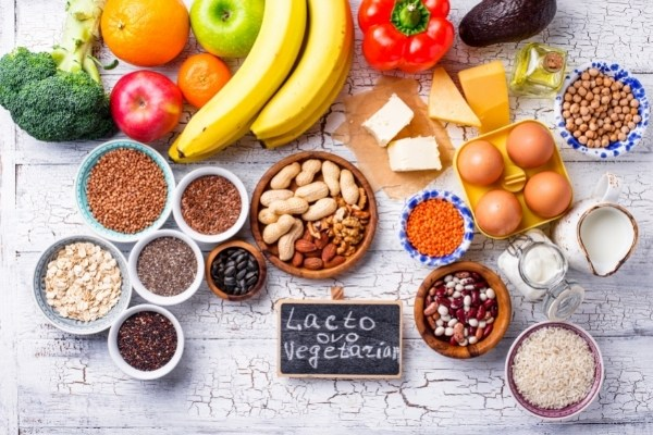 อาหารมังสวิรัติแบบ Lacto-ovo