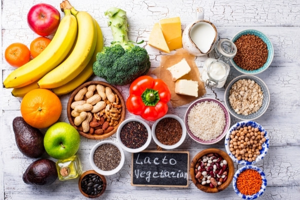อาหารมังสวิรัติแบบ Lacto