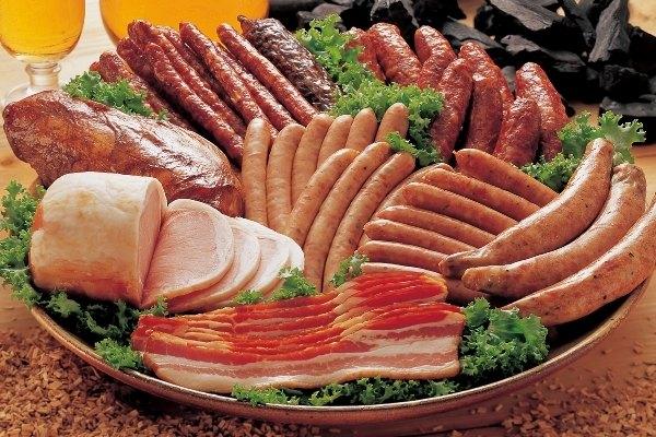 เนื้อแปรรูปและเนื้อแดง