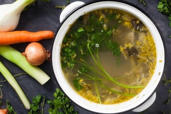 ทำน้ำสต๊อกผัก