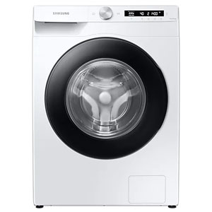 SAMSUNG เครื่องซักผ้าฝาหน้า WW90T504DAW/ST